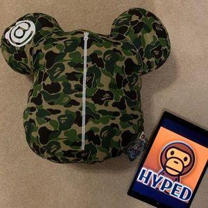 Bape / A Bathing Ape Green ABC Camo Medicom Pillow